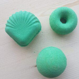 Peppermint Handmade Bath Bombs