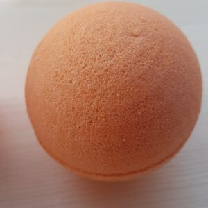 Orange Handmade Bath Bombs