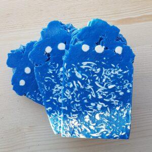 Blue Confetti Handmade Soap