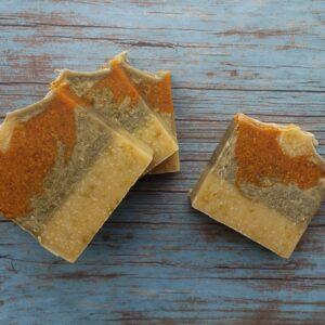 Handmade Mango Kale Soap