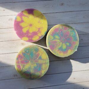 Handmade Kaleidoscope Soap