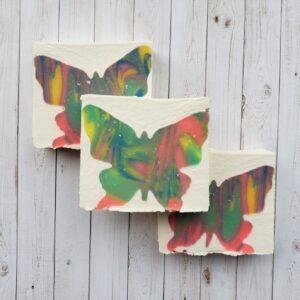 Handmade Spring Butterfly Soap