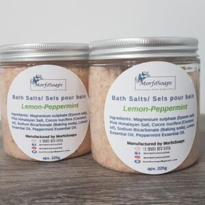 Lemon Peppermint Bath Salts